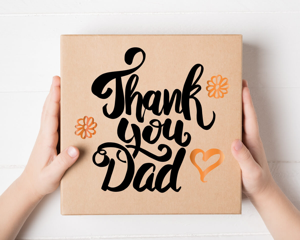 Thank You Dad - Father's Day