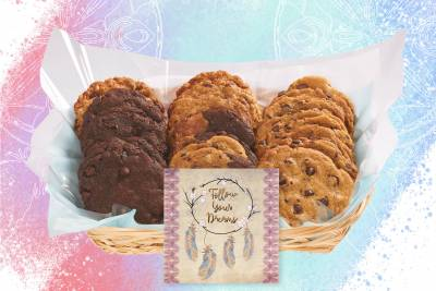 Follow Your Dreams Cookie Gift Basket