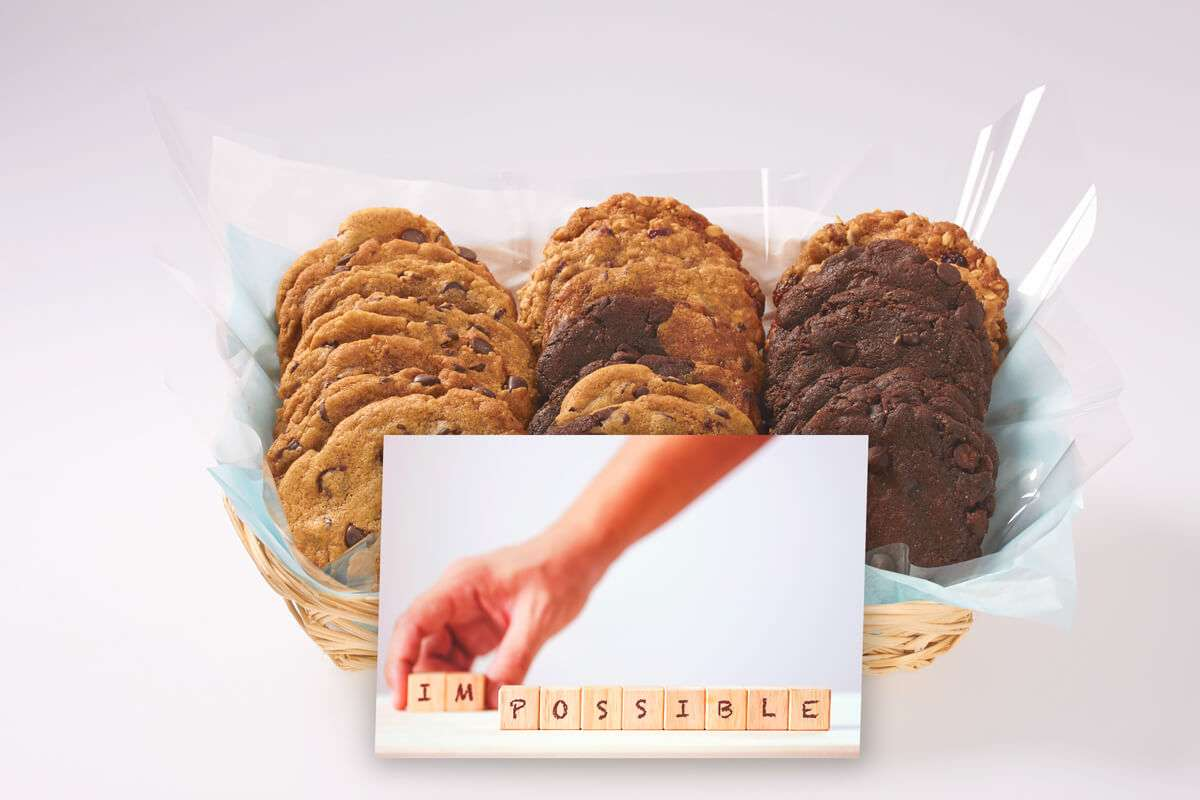 It's Possible Cookie Gift Basket