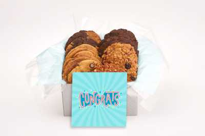 Funky Congrats Cookie Gift Box