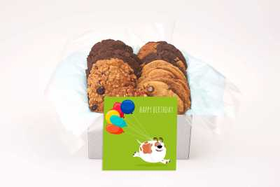 Funny Birthday Dog Cookie Box