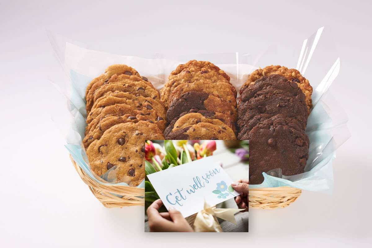 Get Well Soon Cookie Gift Basket