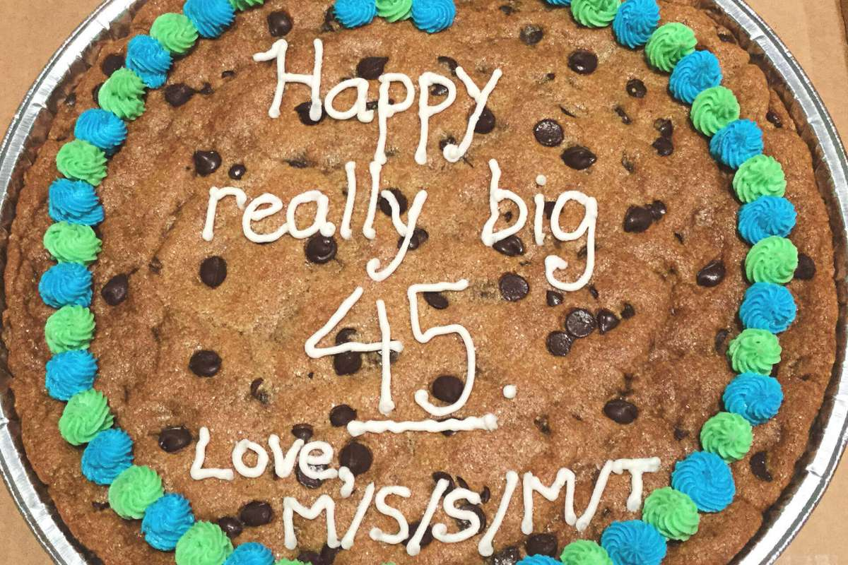Giant Happy Birthday Cookie iCare Giant Cookies Better Cookies