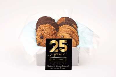 Golden Cookie Anniversary Gift Box