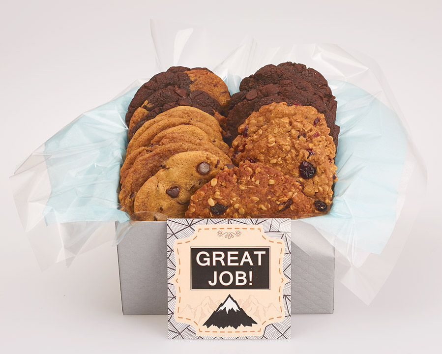 Gourmet Cookies in a Gift Box Delivered - Canada Wide Delivery