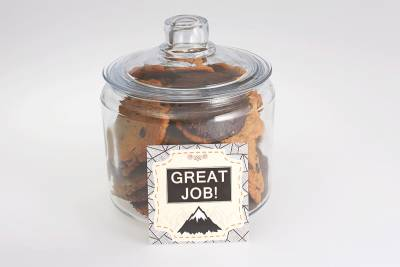 Great Job Cookies in a Jar