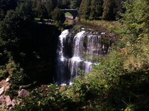 Websters Falls in Hamilton