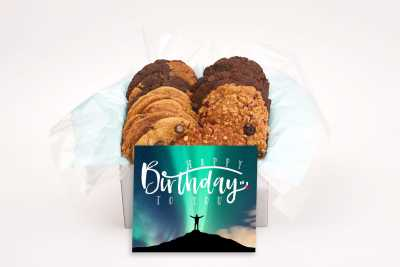 Hands to Sky Happy Birthday Cookie Gift Box