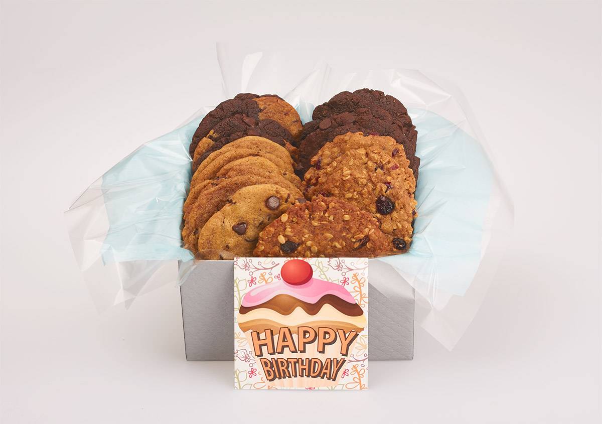 Order An Online Birthday Gift Of Cookies That Embodies Goodness