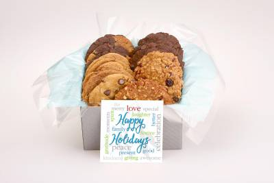 Happy Holidays Gift Box