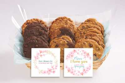 Happy Mother's Day Cookie Gift Basket
