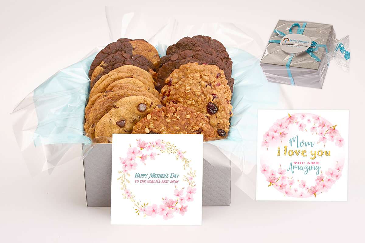 Happy Mother S Day Cookie Gift Box