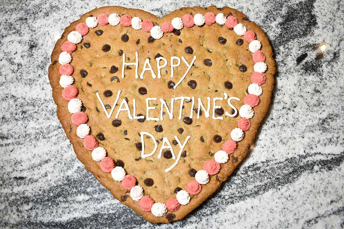 Happy Valentine's Day Cookie Gram