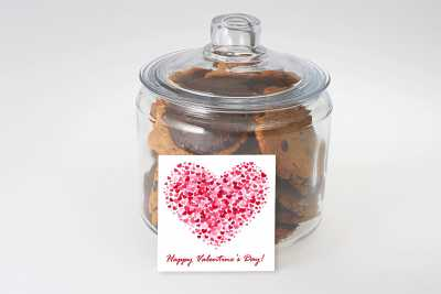 Happy Valentine's Day Gift Jar