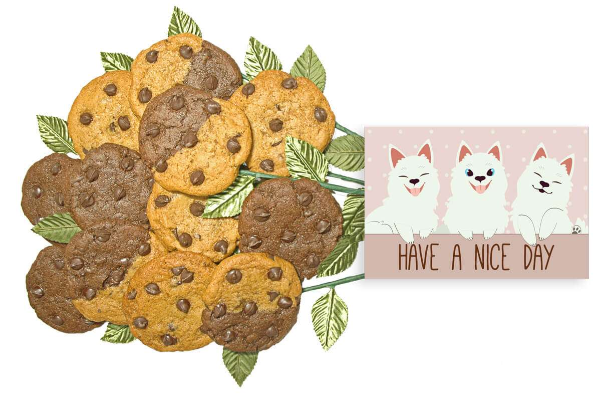 Have a Nice Day Cookie Gift Bouquet
