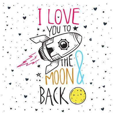 Select I Love You To the Moon and Back