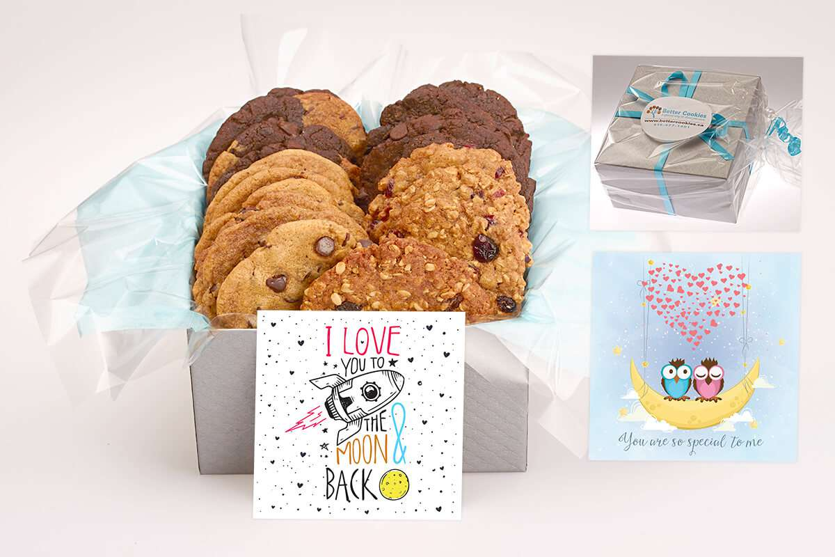 I Love You To the Moon Cookie Box