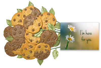 I'm Here For You Cookie Flower Bouquet