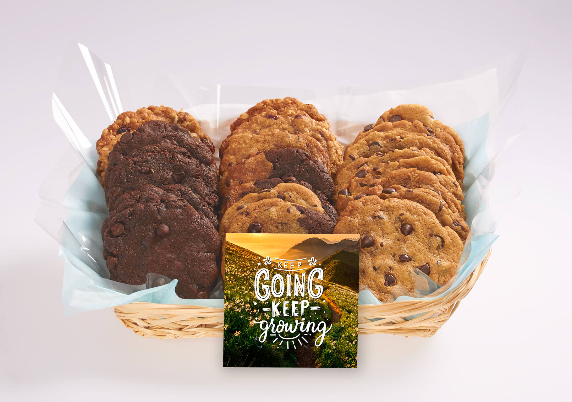 Keep Going & Keep Growing Inspirational Gift Baskets