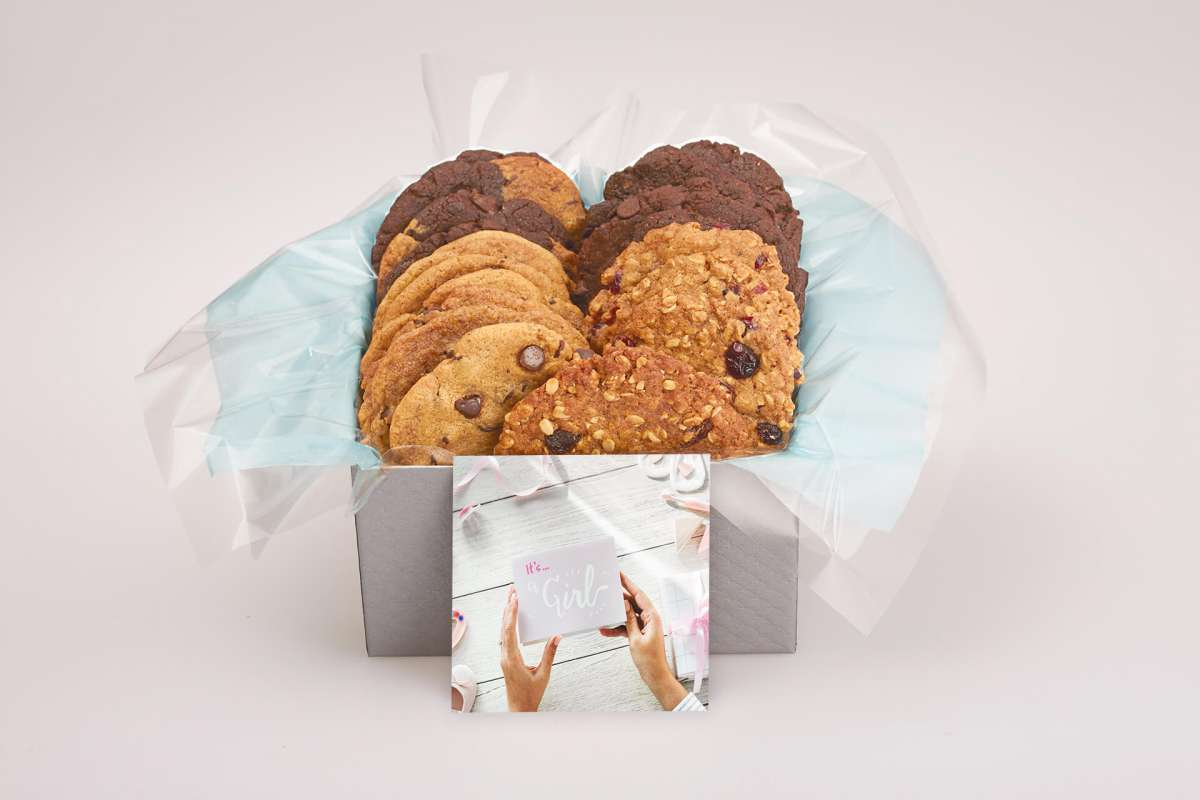 It's a Girl Cookie Gift Box