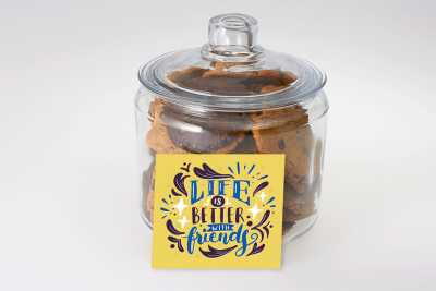 Life is Better With Friends Cookie Jar