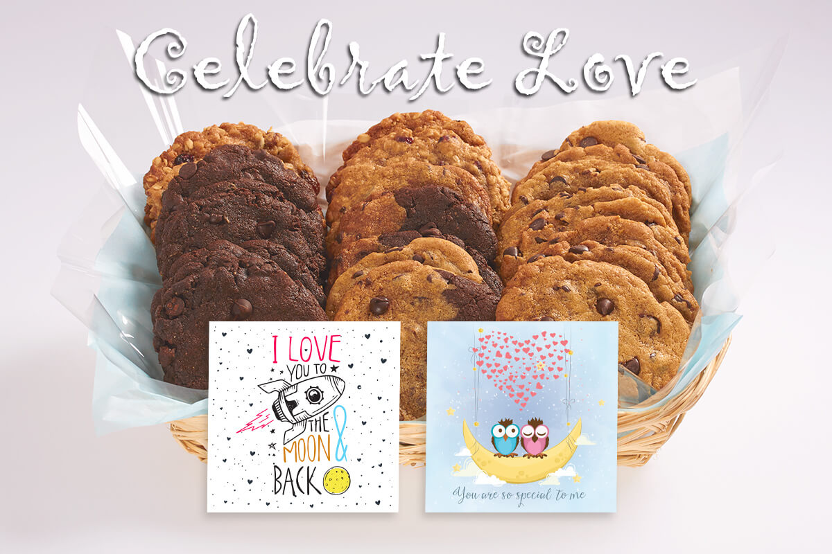 Celebrate Love Gourmet Cookie Gifts