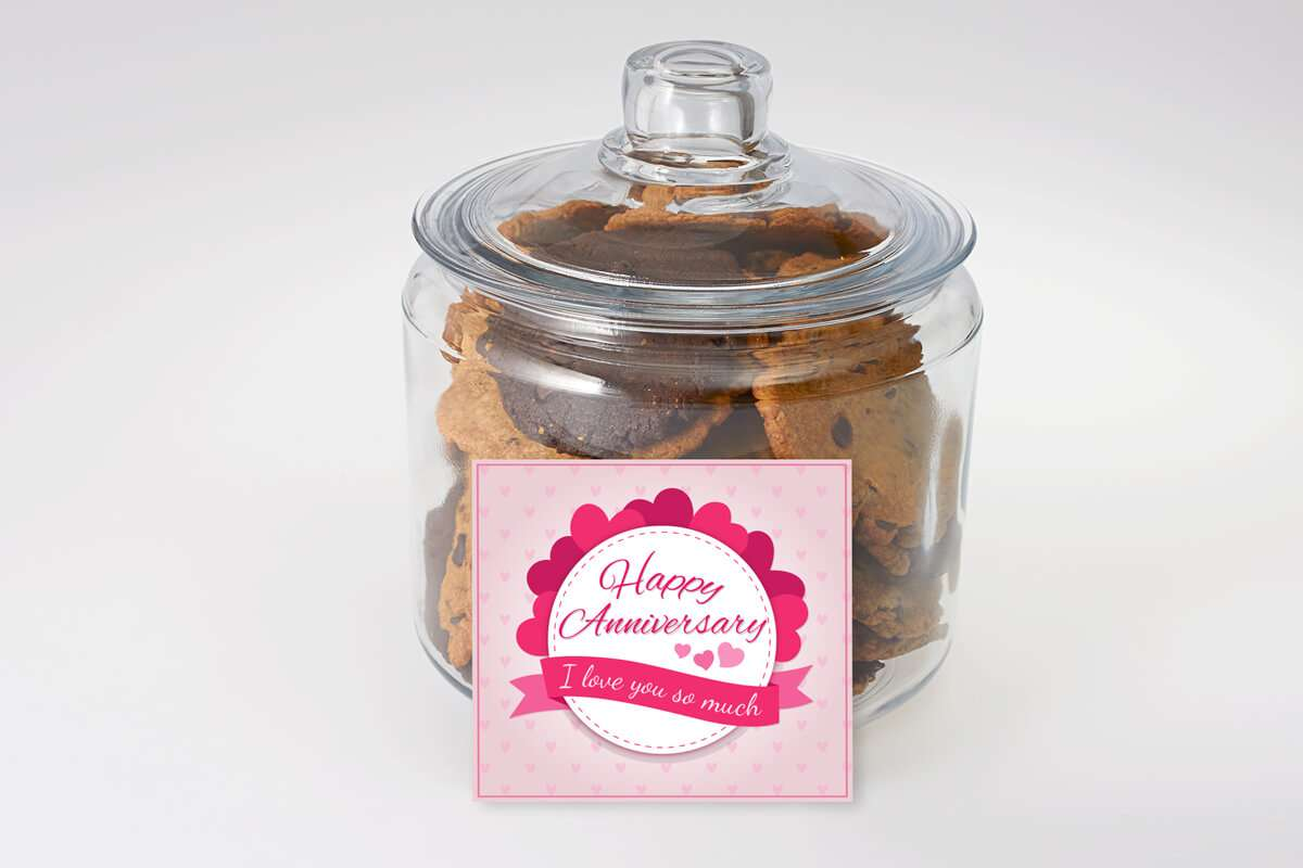 Love You So Anniversary Cookie Jar