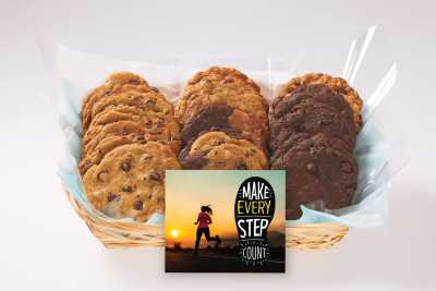 Make Every Step Count Gift Basket