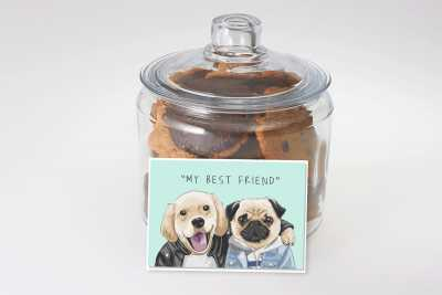 My Best Friend Cookie Jar
