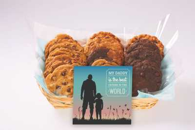 My Daddy is the Best Father Cookie Basket