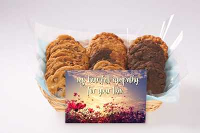 My Heartfelt Sympathy Cookie Gift Basket