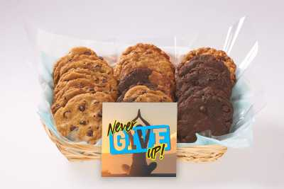 Never Give Up Gift Basket