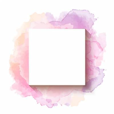 Select the Pink and Purple Watercolour Frame