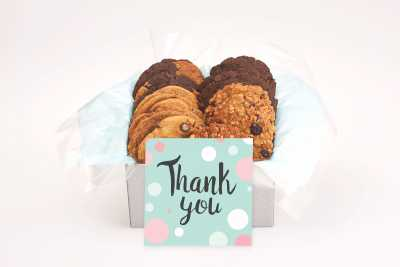 Pokadot Thank You Cookie Gift Box