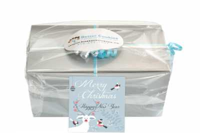 Small Cute Christmas Cookies Gift Box