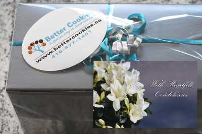 Small Condolences Cookie Gift Box