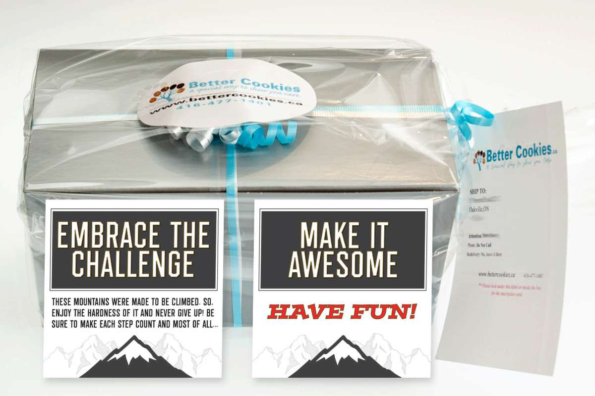Small Embrace the Challenge Gift Box