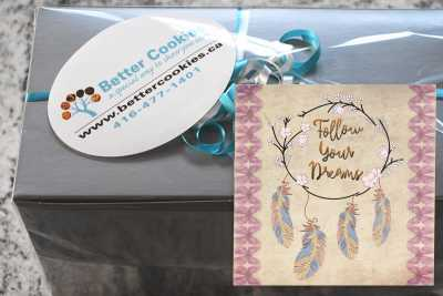 Small Follow Your Dreams Cookie Gift Box