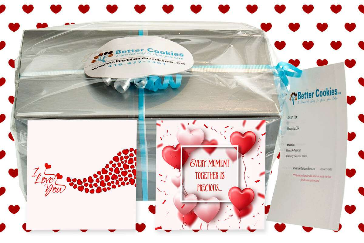 Small I Love You Cookie Gift Box