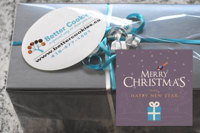 Small Laughter and Love Christmas Gift Box