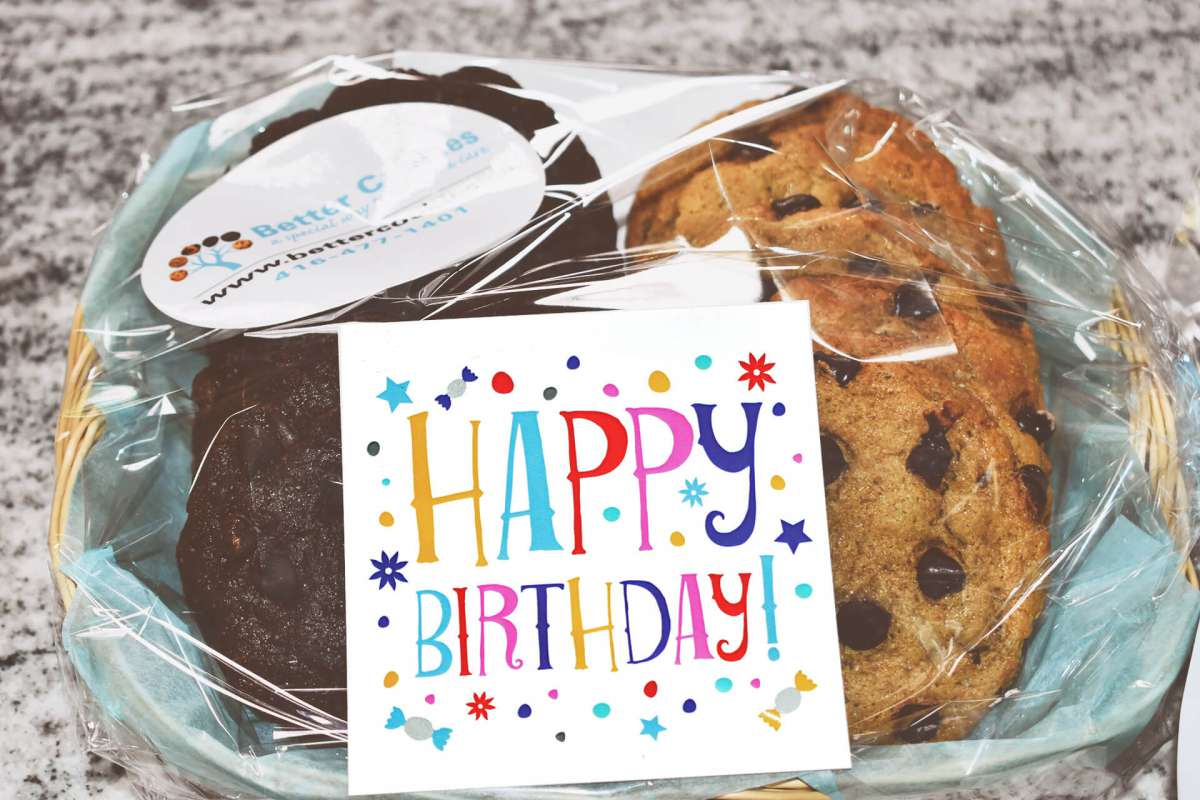 Send A Small Birthday Gift Basket To Make Someones Day Special