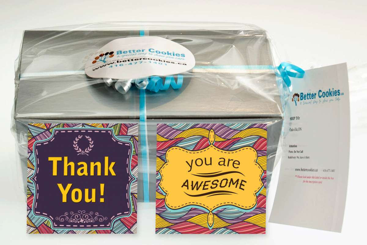 Small Thank You Gift Box