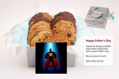 Super Dad Cookie Gift Box