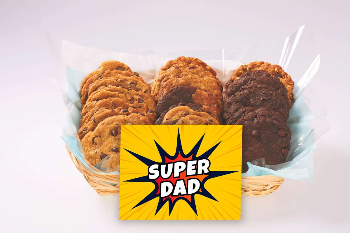 Super Dad Gift Basket