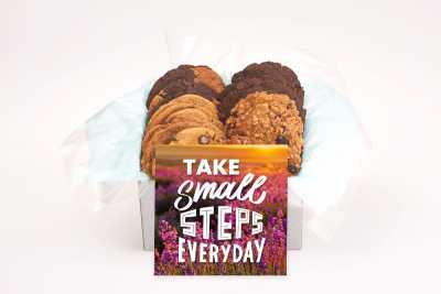 Take Small Steps Cookie Gift Box