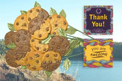Thanks Cookie Bouquet