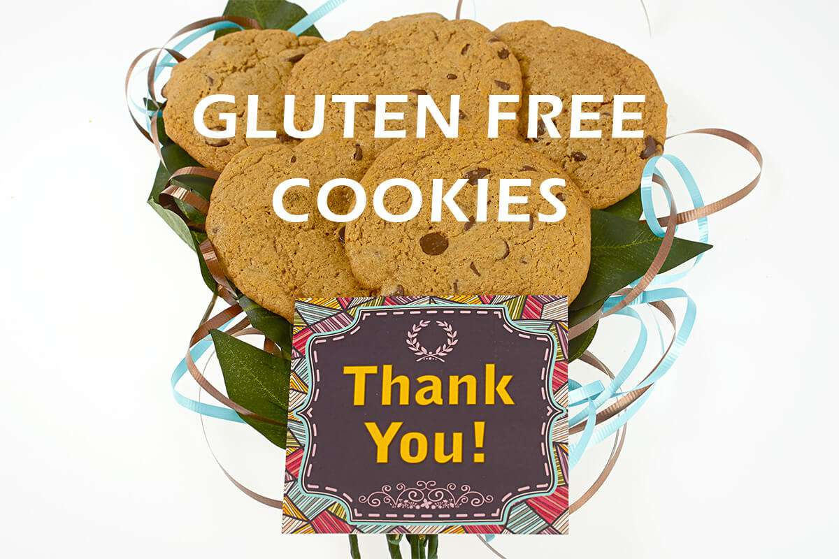 Thank you Gluten Free Cookie Bouquet