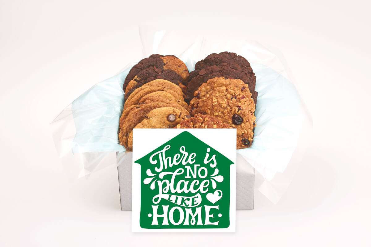 There is No Place Like Home Cookie Box