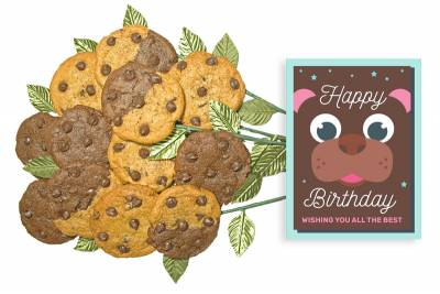Very Beary Birthday Cookie Bouquet