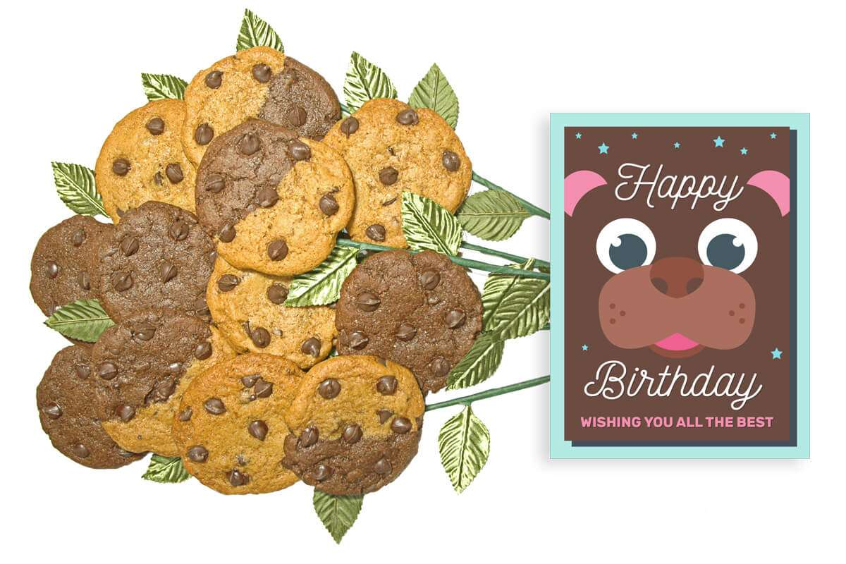 Very Beary Birthday Bouquet of Cookies
